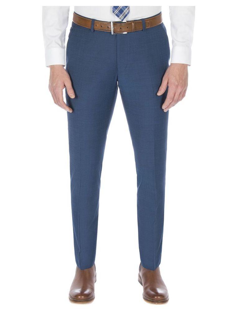 Dark Teal Blue Tonic Camden Trouser 32L Teal