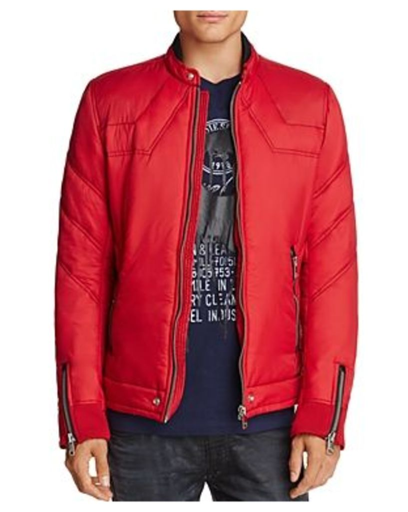 Diesel W-Deacon Zip Puffer Jacket