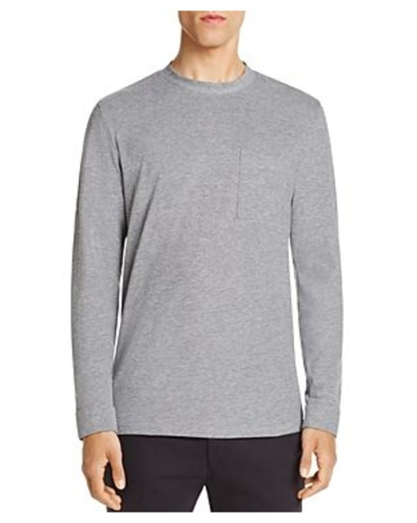 NN07 Renly Pique Long Sleeve Mock Neck Tee