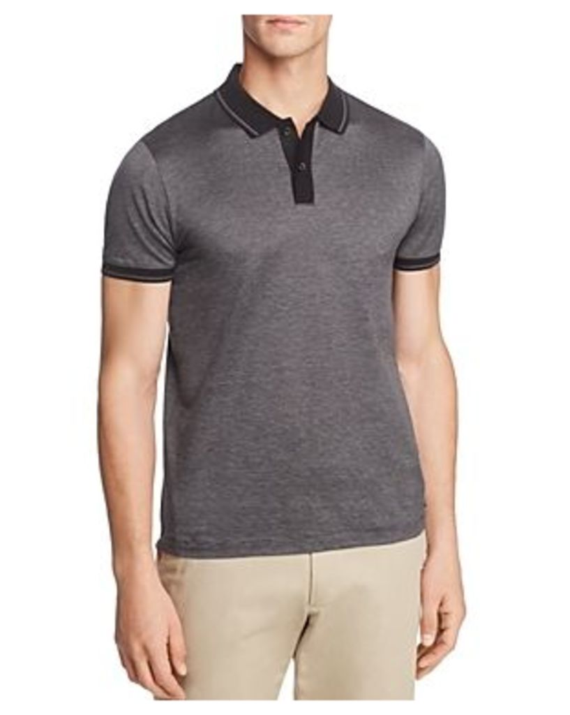 Hugo Boss Philipson Fineline Short Sleeve Slim Fit Polo Shirt