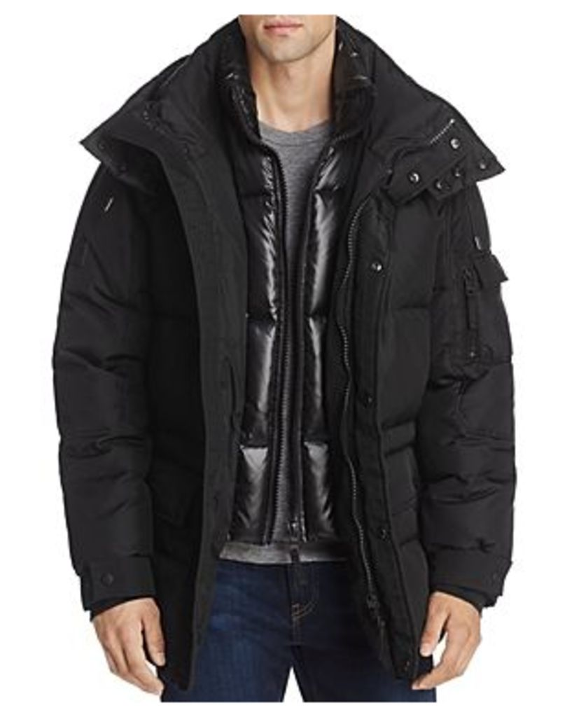Sam. Element Hooded Puffer Jacket