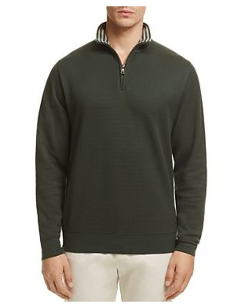 Brooks Brothers Quarter-Zip Sweater
