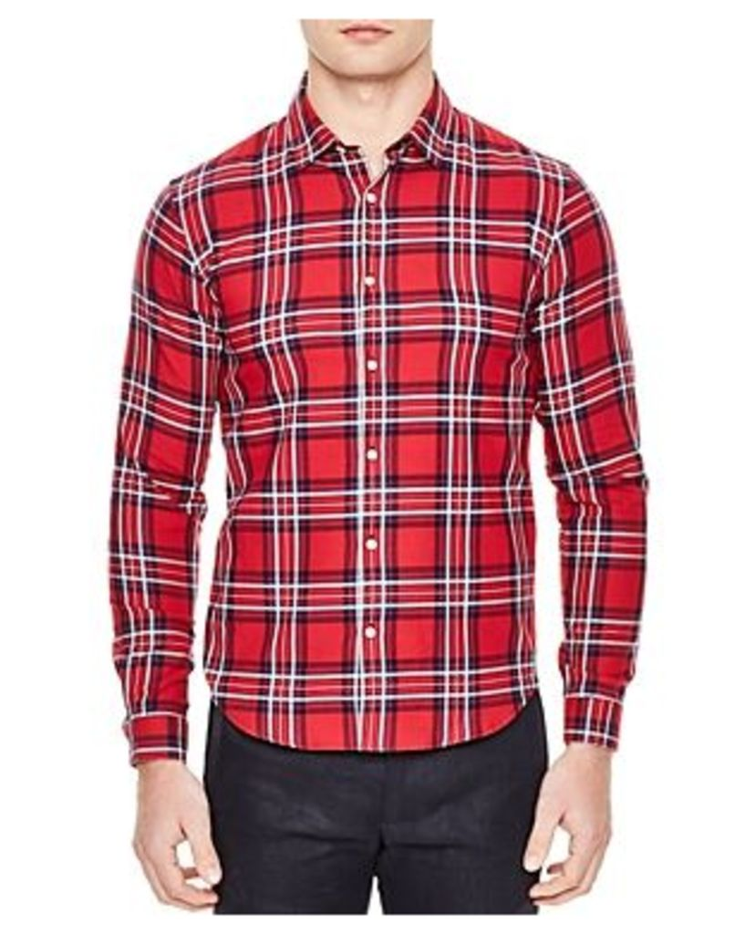 Sandro Lost Slim Fit Button-Down Shirt