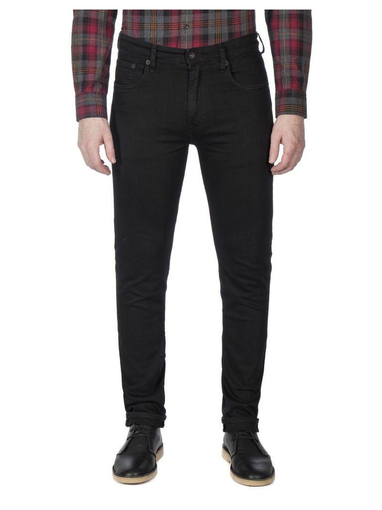 Black Skinny Fit Jean 28S Black Denim