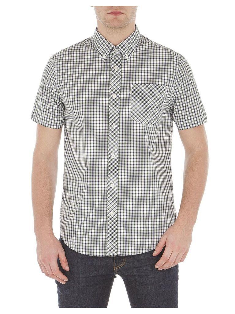 Short Sleeve House Check Shirt Sml 35 Pine Grove