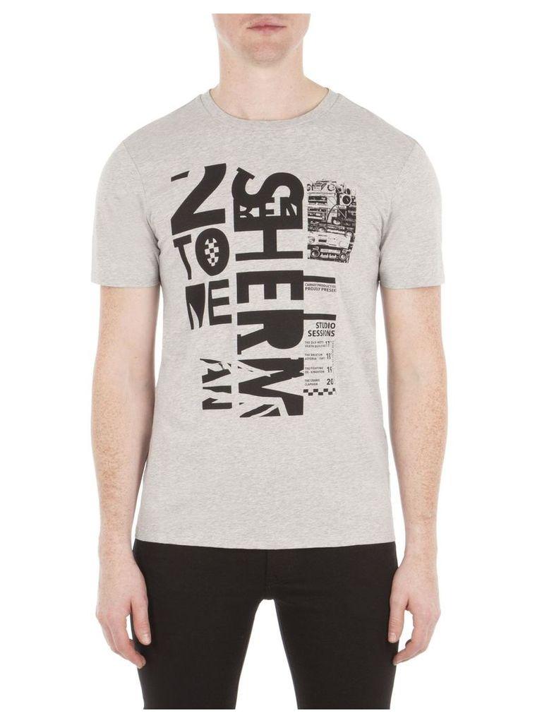 Two Tone Studio Sessions T-Shirt XXXL EM8 Light Ash Marl