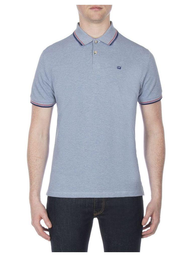 Romford Polo Shirt Med ASH BLUE MARL