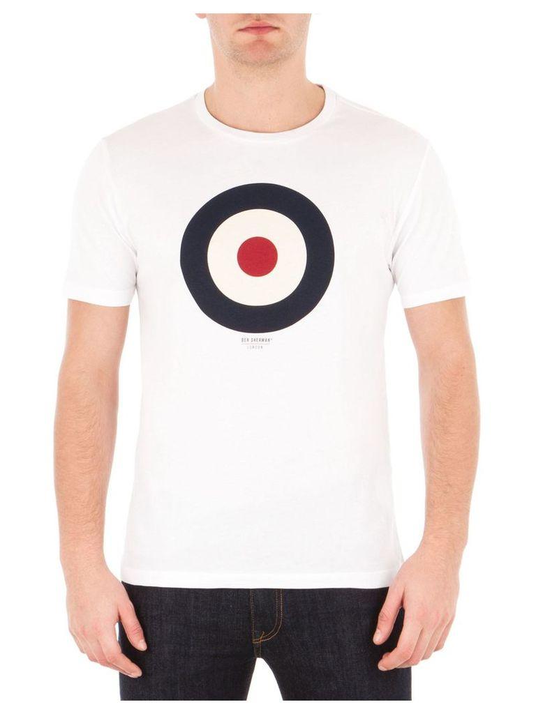 Target T-Shirt Med Bright White