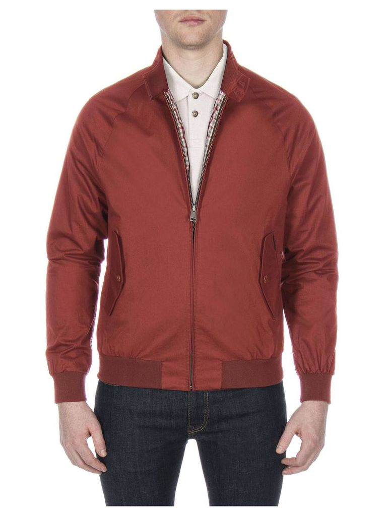 Harrington Jacket Lge RUSSET BROWN