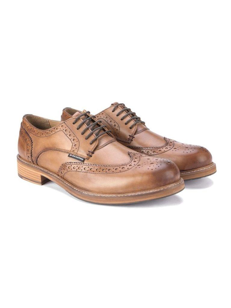 Patrick Leather Brogue 12 Tan
