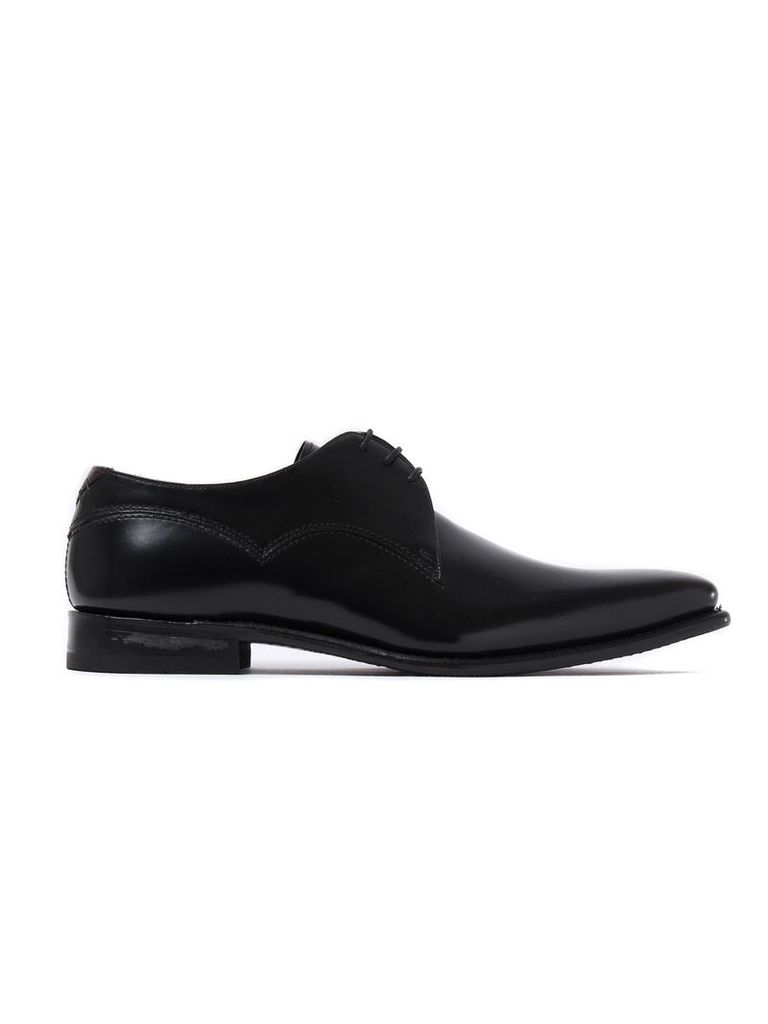Men's Connelly Patent Leather Derby Shoes - Black