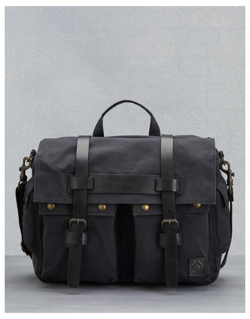 Belstaff Colonial Messenger Bag Black