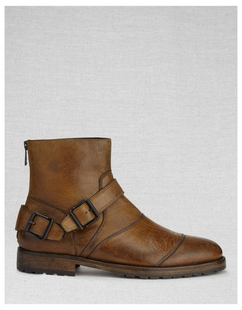 Belstaff Brockley Brogue Boots Brown