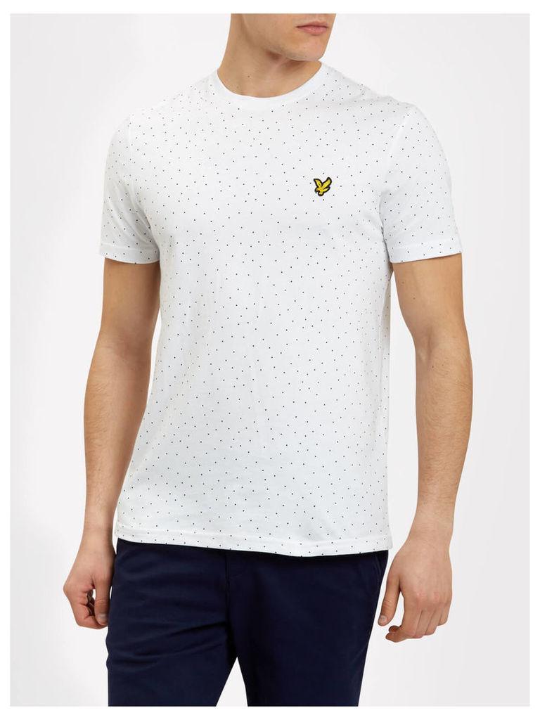 Lyle & Scott Mini Square Dot Pattern T-shirt