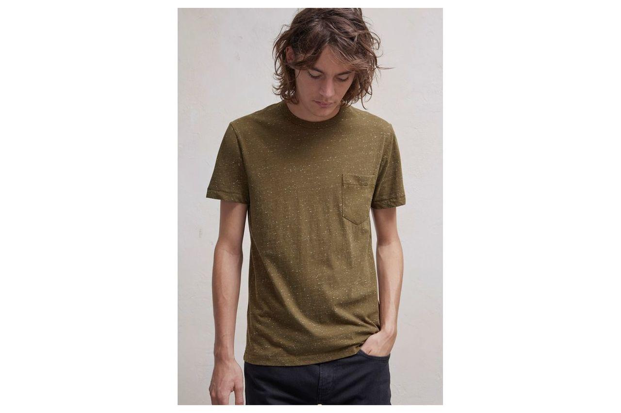 Granite Grindle Jersey T-Shirt - olive