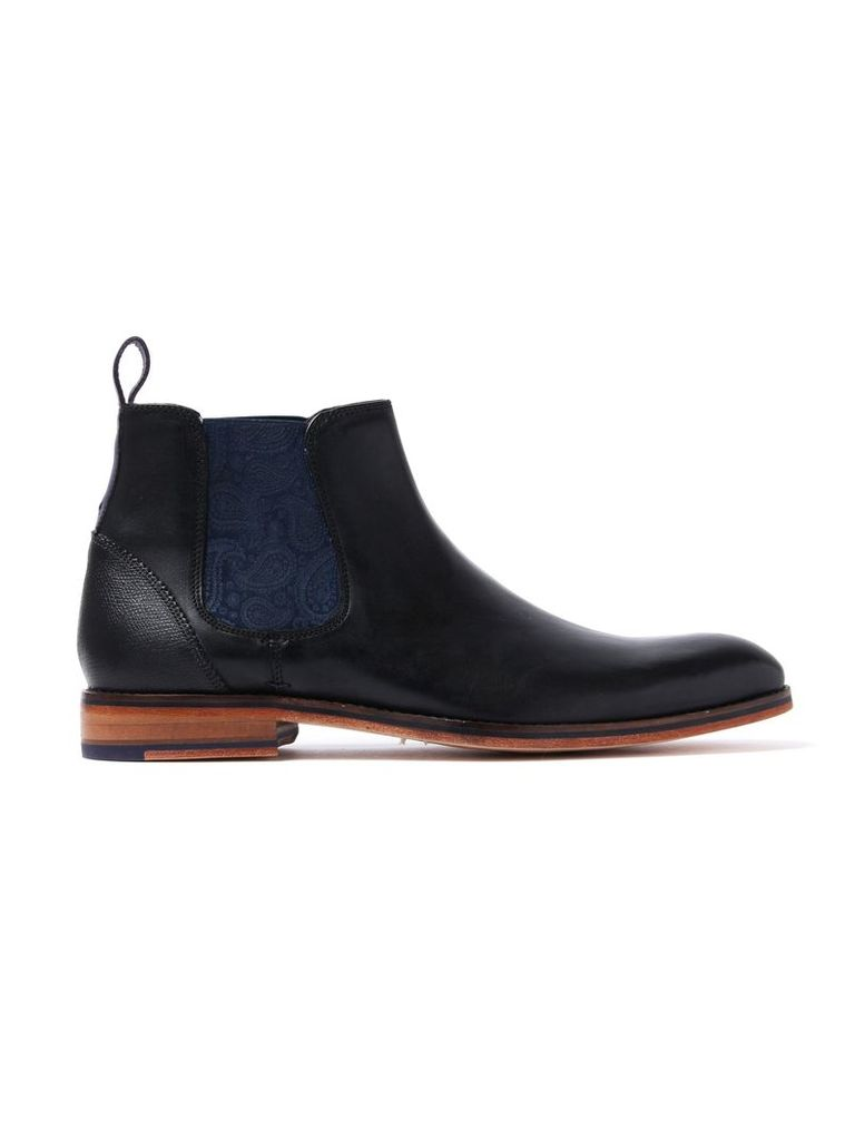 Men's Camroon 4 Leather Chelsea Boots - Black