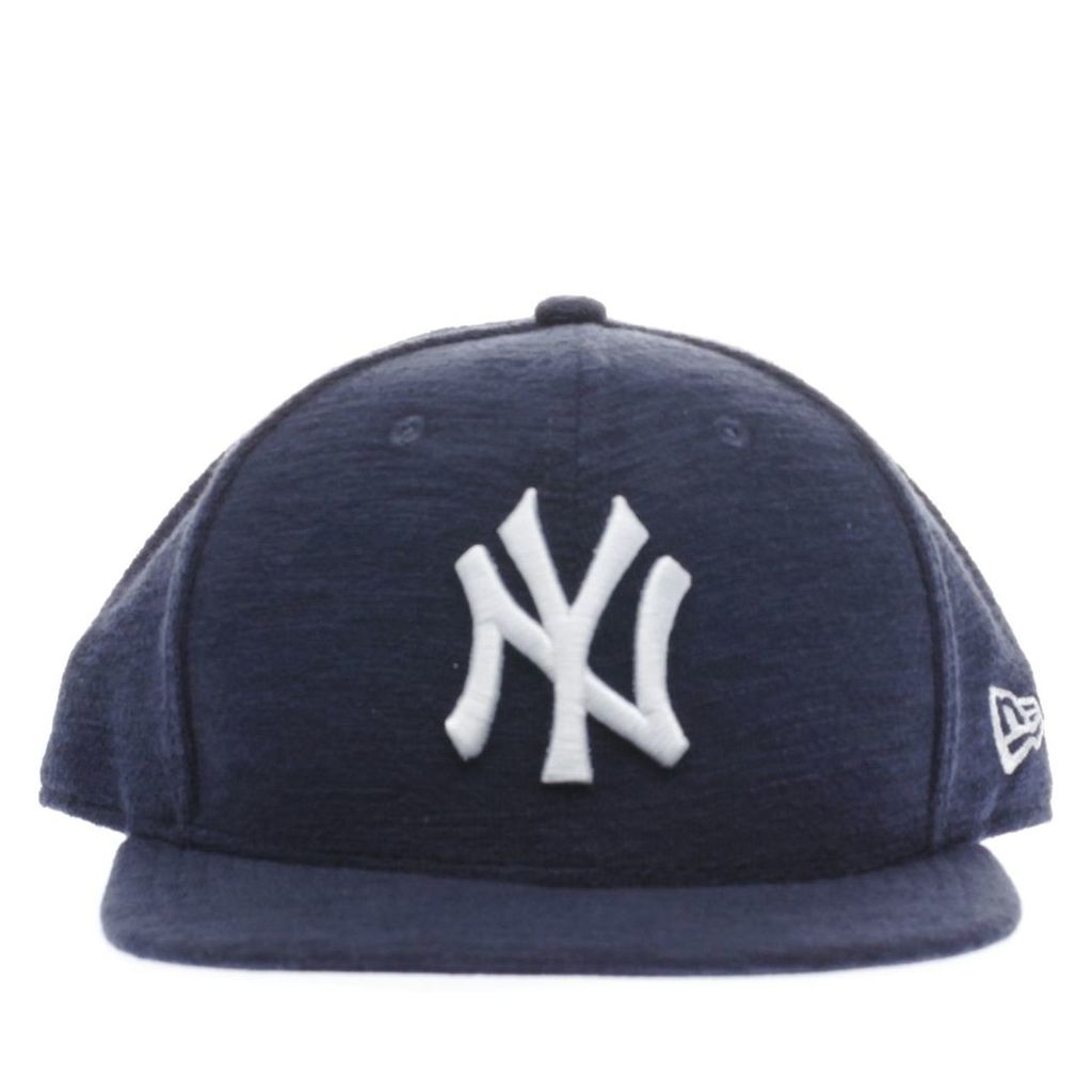 new era navy & white 9fifty slub caps and hats