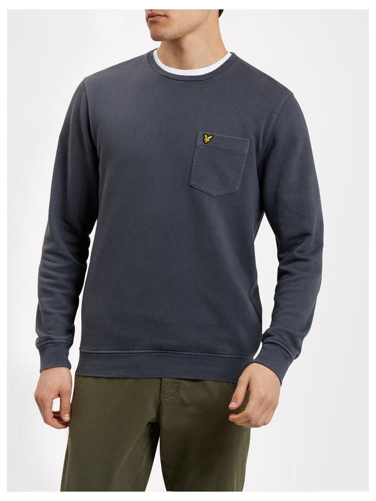 Lyle & Scott Garment Dye Sweatshirt