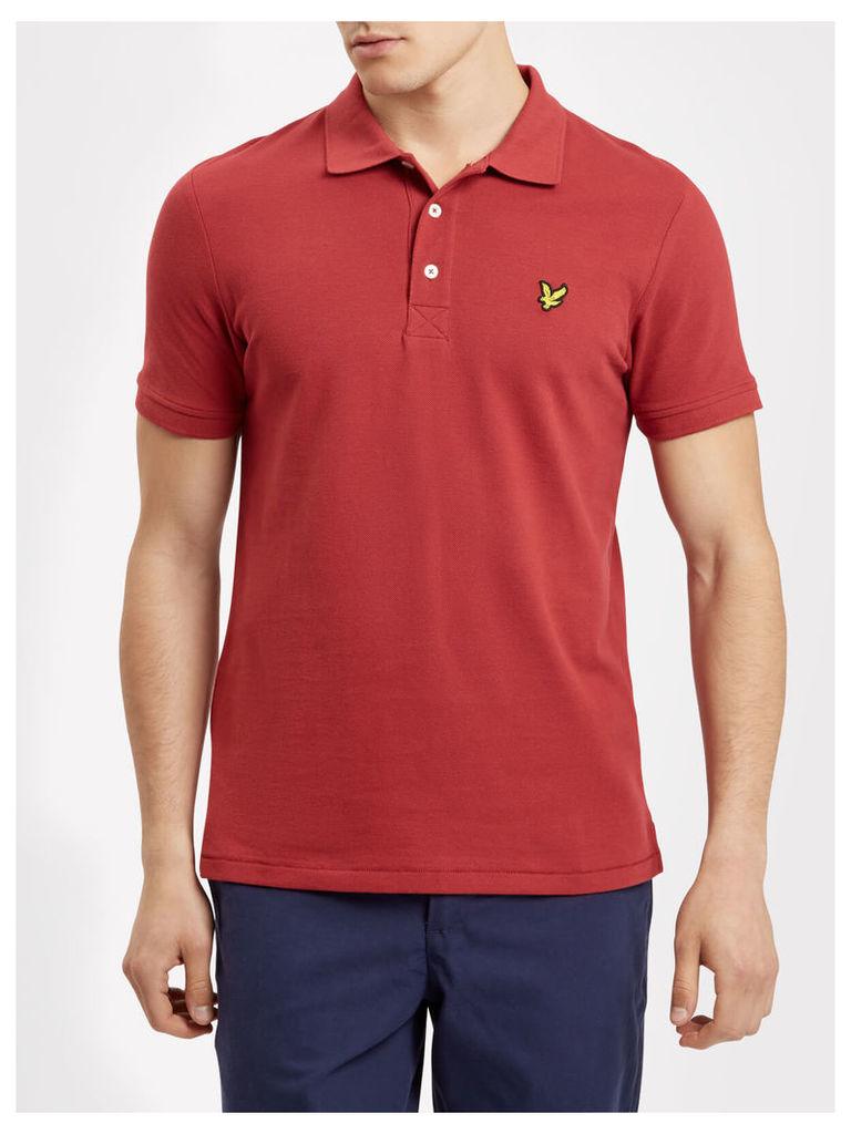 Lyle & Scott Plain Pick Stitch Polo Shirt