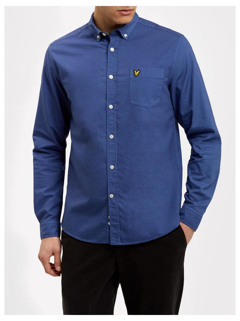 Lyle & Scott Garment Dye Oxford Shirt