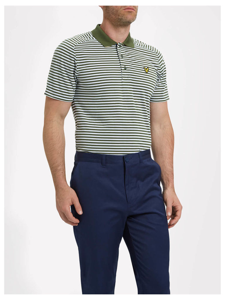 Lyle & Scott Craigielaw Golf Stripe Polo Shirt