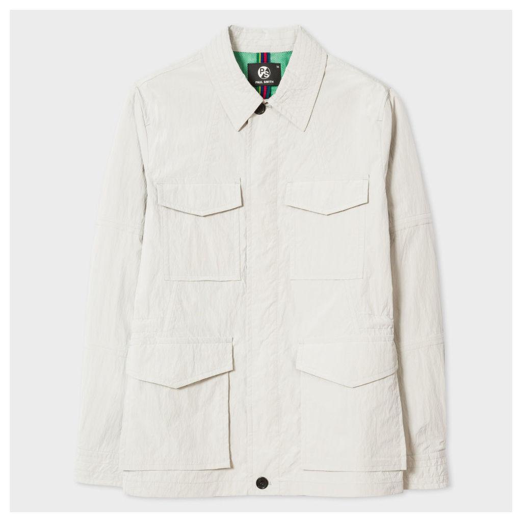 Men's Stone Micro Ripstop Field Jacket