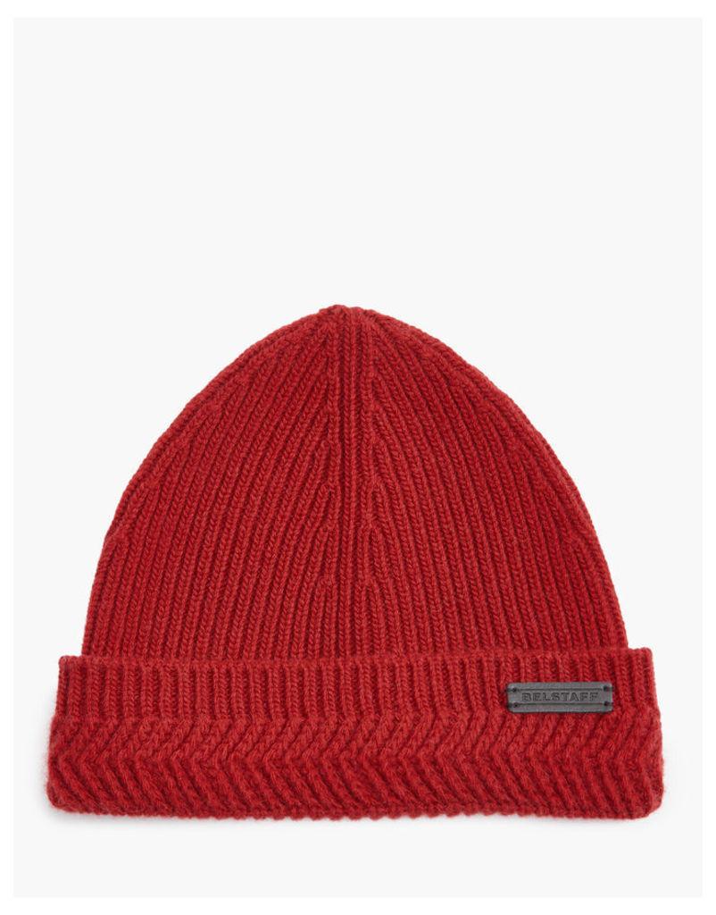 Belstaff Seabrook Hat Red
