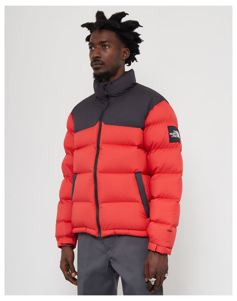 the north face black label 1992 nuptse jacket red by the. Black Bedroom Furniture Sets. Home Design Ideas