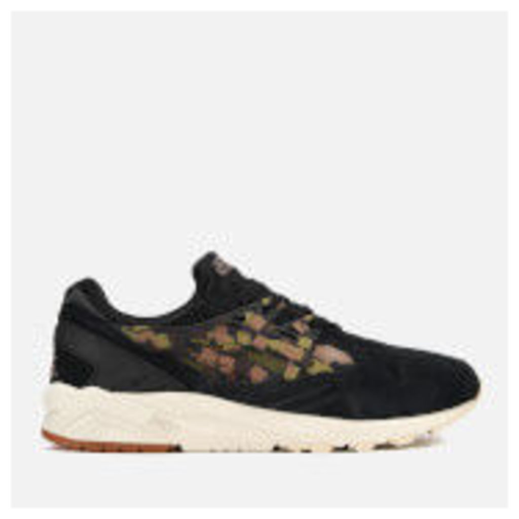 Asics Lifestyle Men's Gel Kayano Suede Trainers - Black/Martini Olive