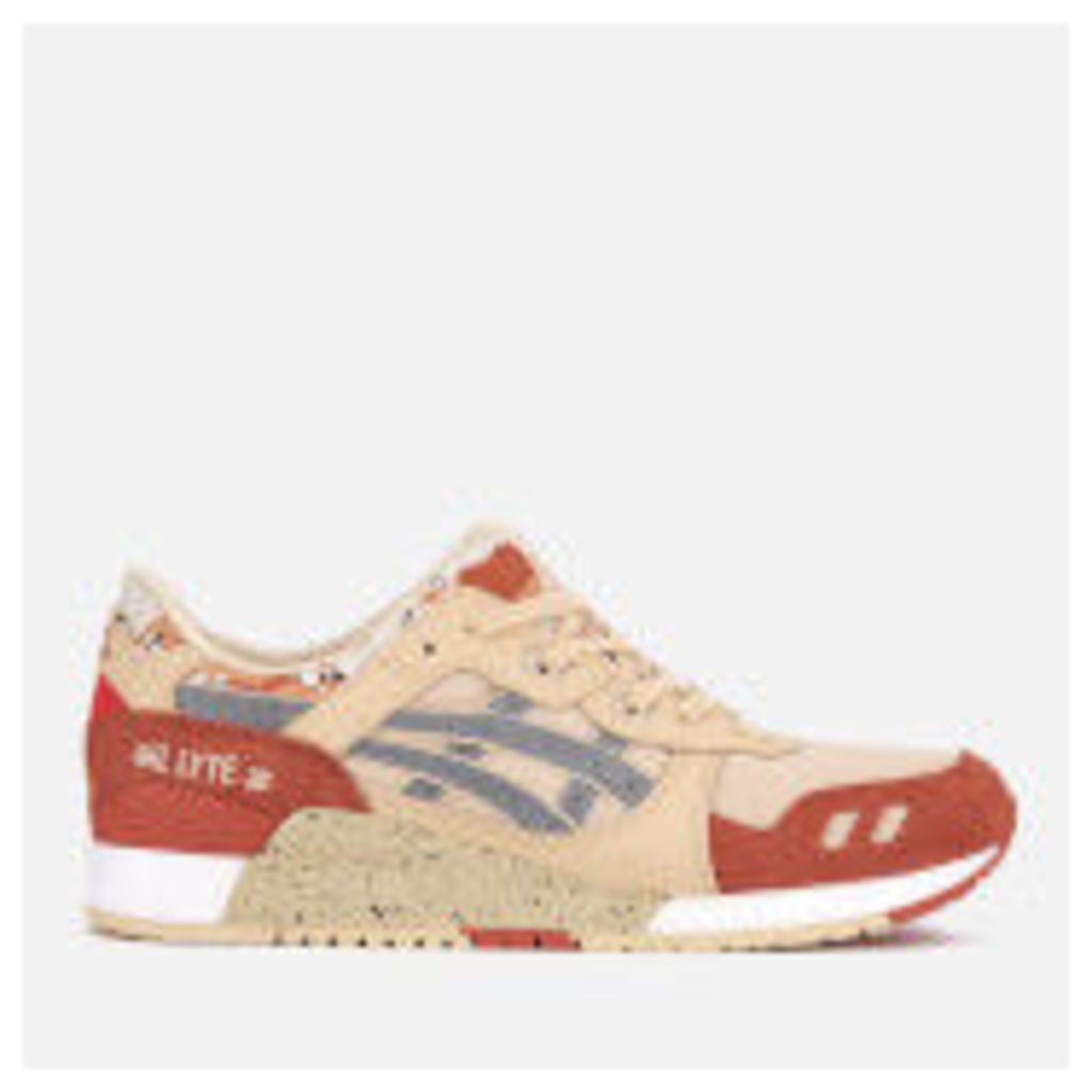 Asics Lifestyle Men's Gel-Lyte III Trainers - Marzipan/Silver