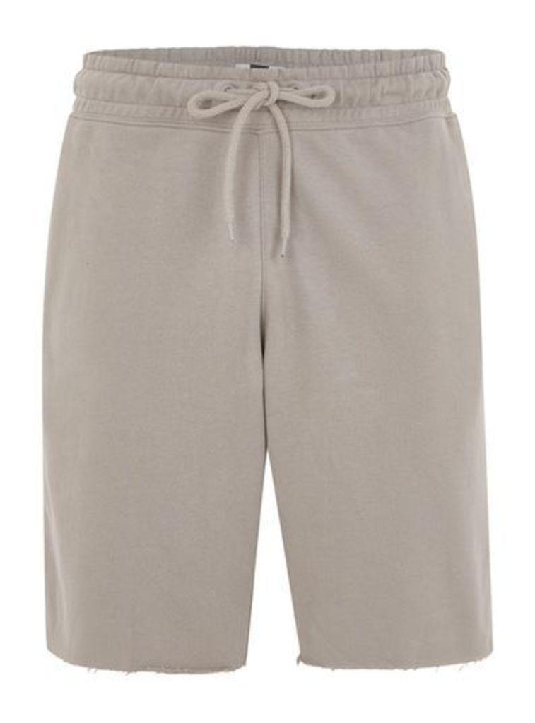 Mens Grey Jersey Shorts, Grey