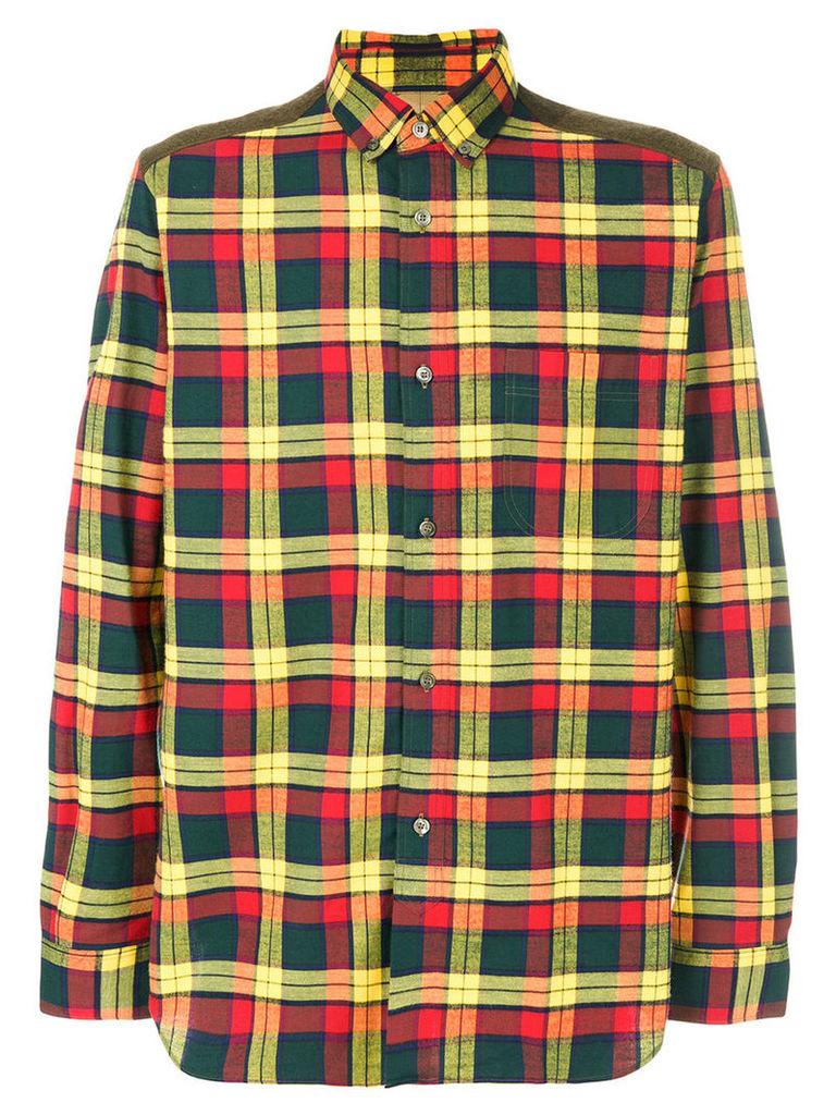 Junya Watanabe Comme Des Garçons Man - checked shirt - men - Cotton - S