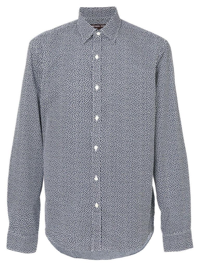Michael Kors - speckled long sleeved shirt - men - Cotton - XS