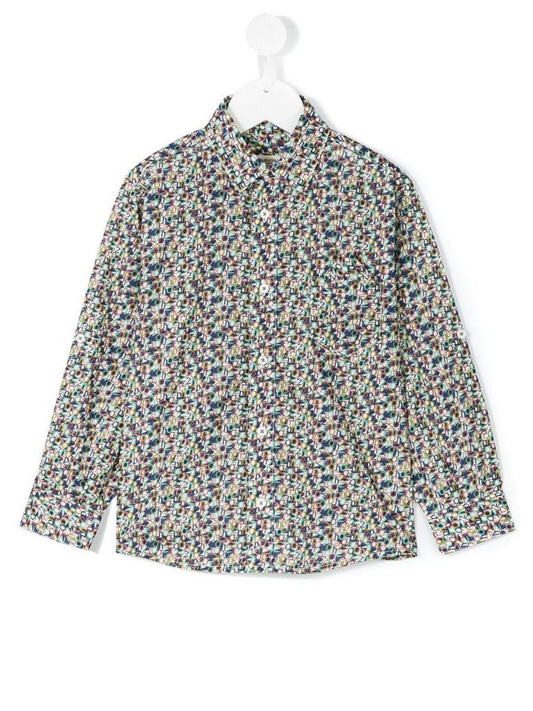 Cashmirino - Number print shirt - kids - Cotton - 10 yrs, Blue
