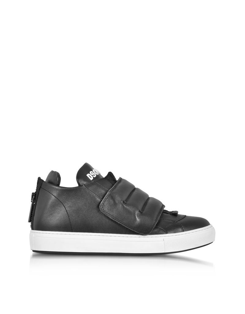 DSquared2 Shoes, Tokyo Gang Black Leather Sneaker