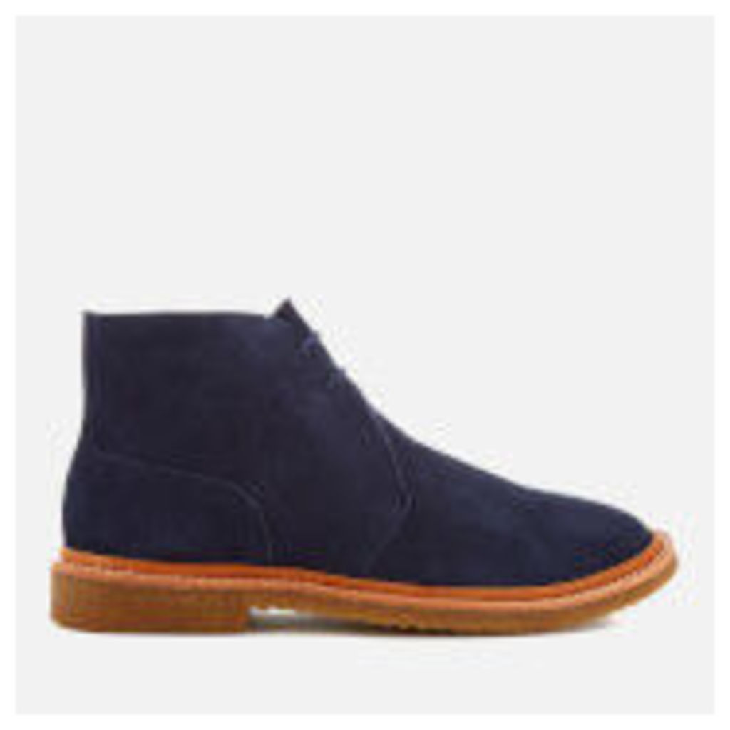 Polo Ralph Lauren Men's Karlyle Suede Desert Boots - Midnight