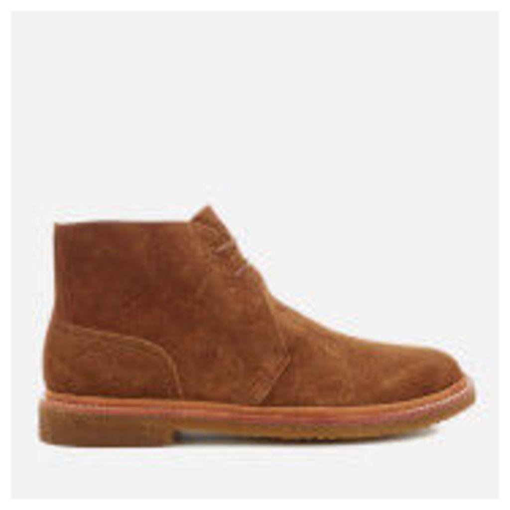 Polo Ralph Lauren Men's Karlyle Suede Desert Boots - New Snuff