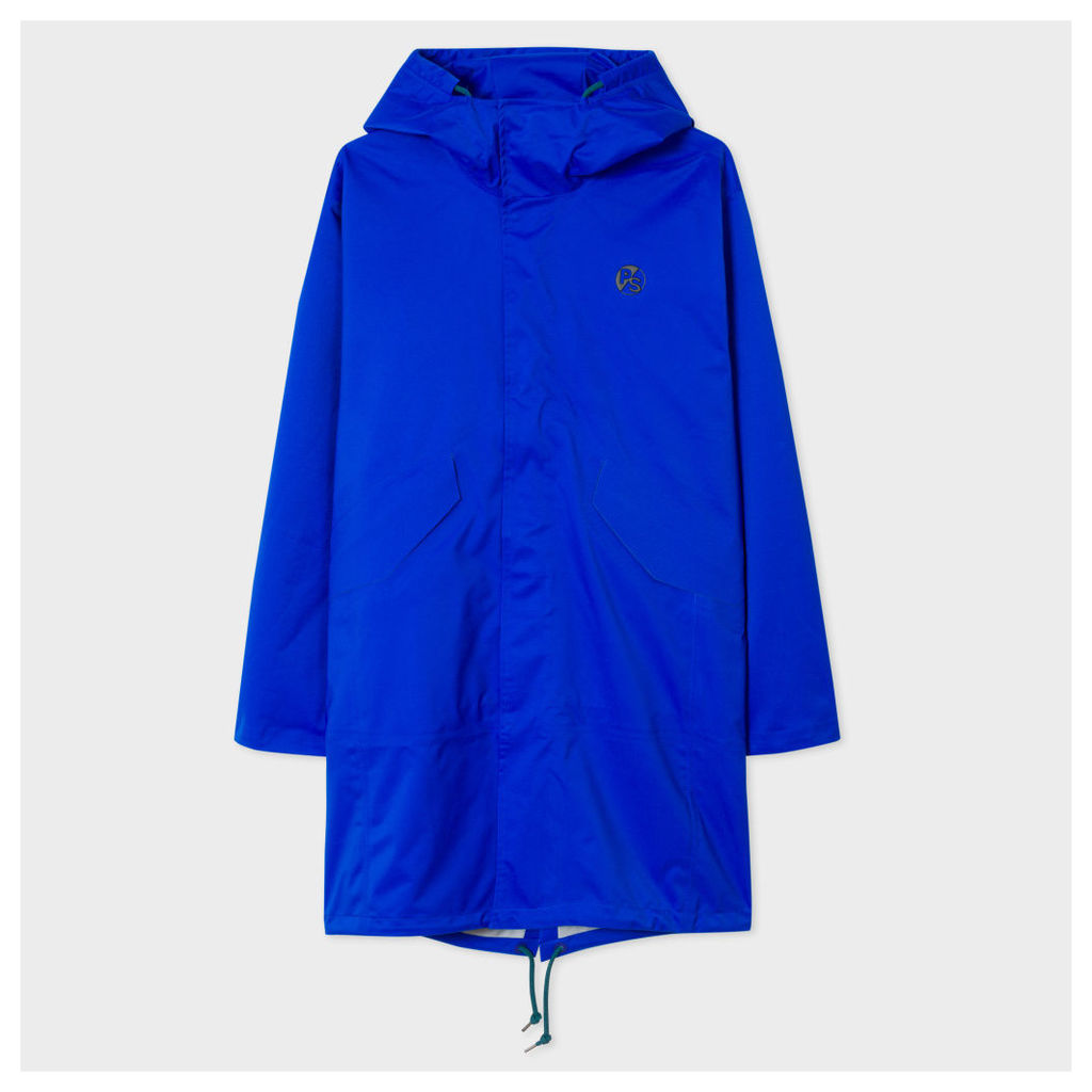 Men's Cobalt Blue Waterproof Parka