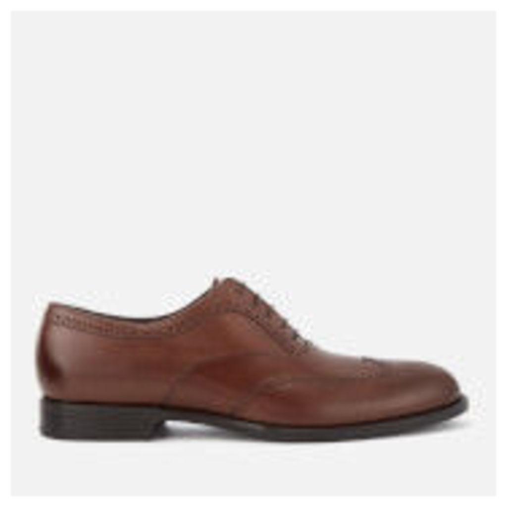 BOSS Hugo Boss Men's Manhattan Leather Brogues - Medium Brown