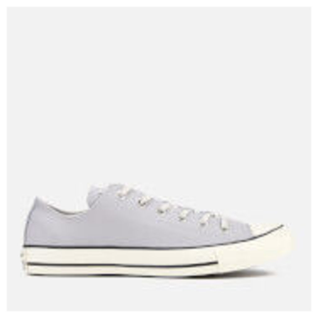 Converse Men's Chuck Taylor All Star Ox Trainers - Wolf Grey/Black/Egret