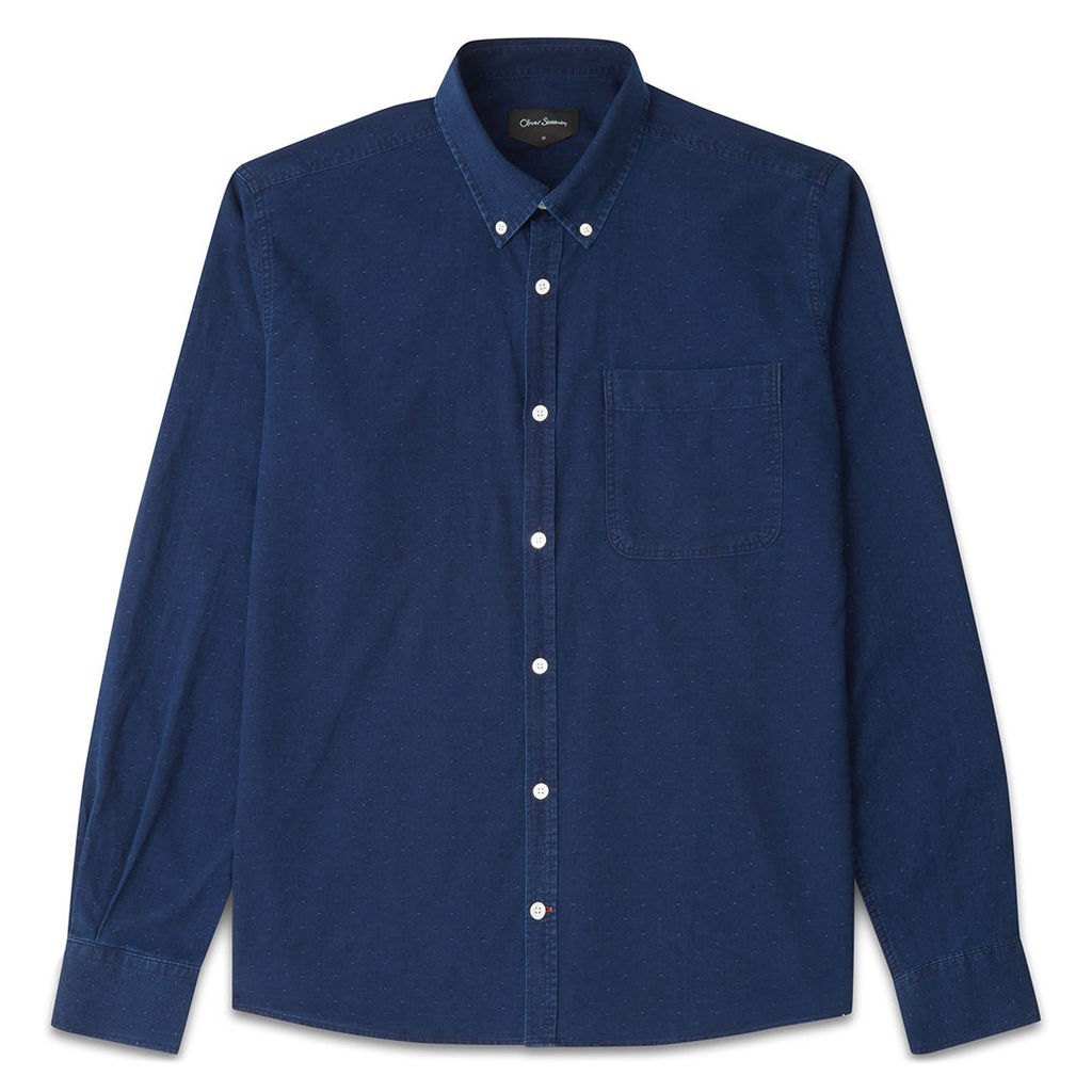 Oliver Sweeney Oxford Indigo Dot