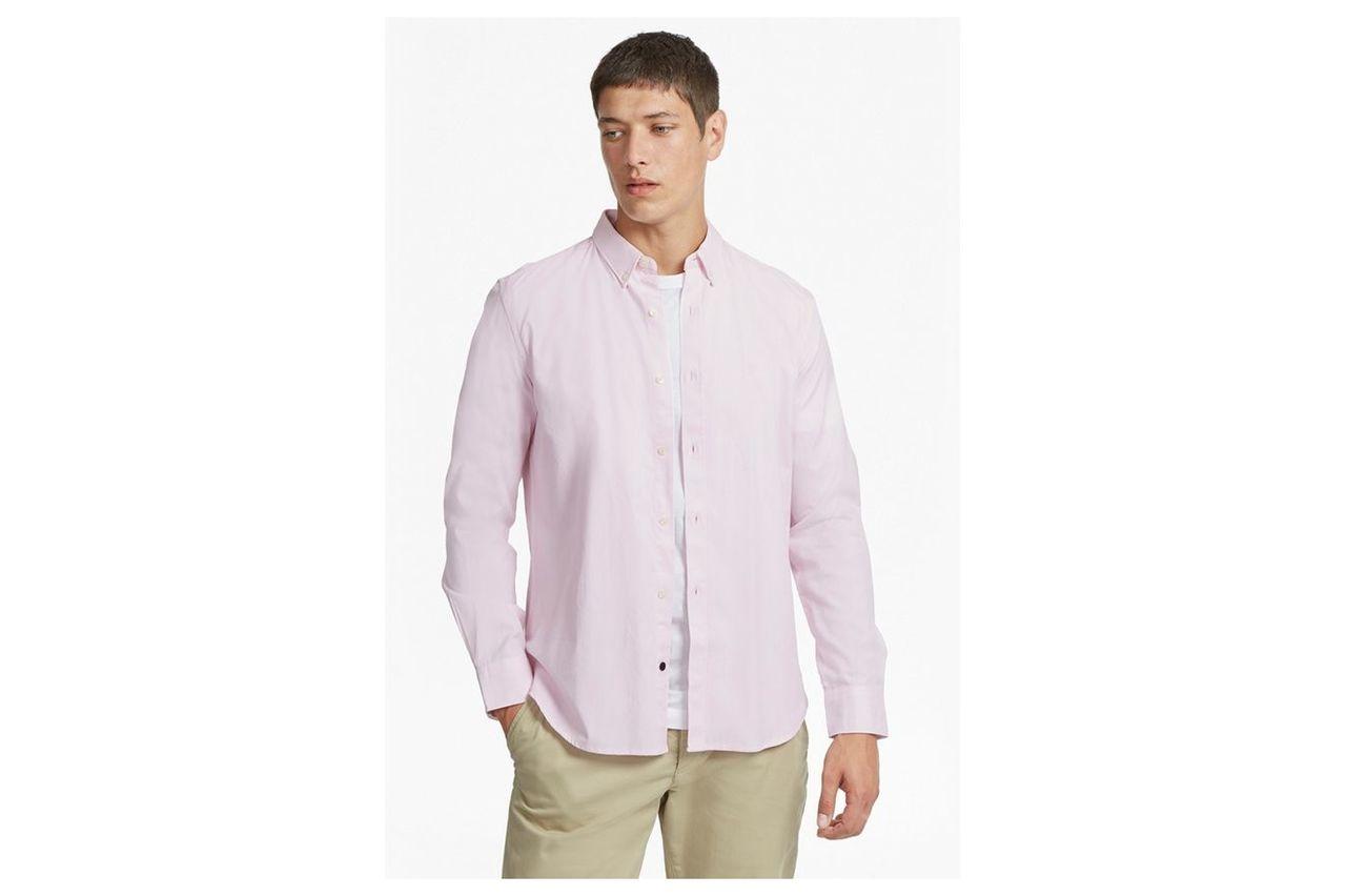 Summer Soft Regular Fit Oxford Shirt - sure pink