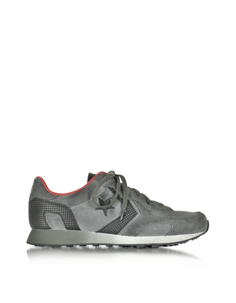 Converse Limited Edition Shoes, Auckland Racer Beluga & Chili Pepper Ox Suede Men's Sneaker