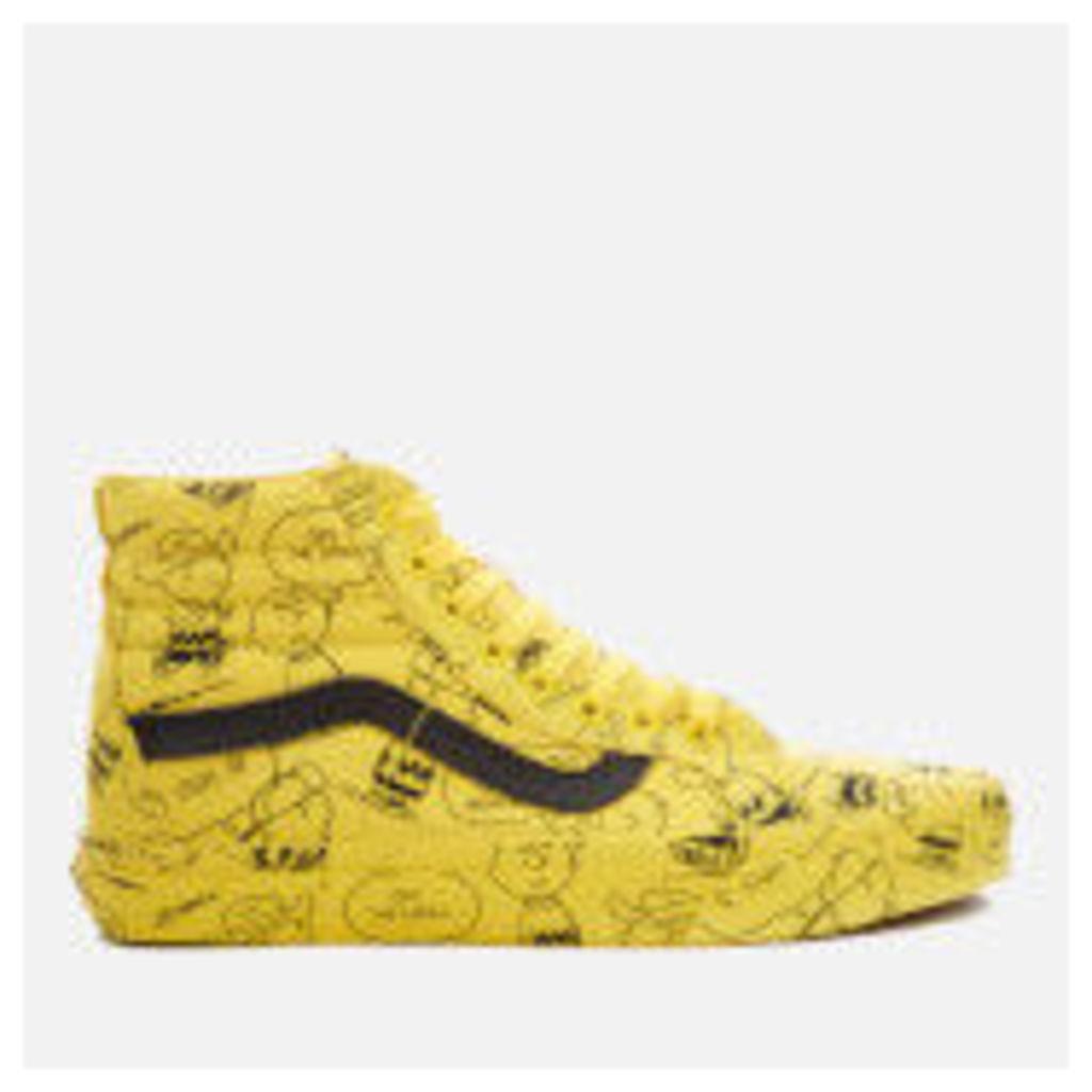 Vans X Peanuts Men's SK8-Hi Reissue Trainers - Charlie Brown/Maize
