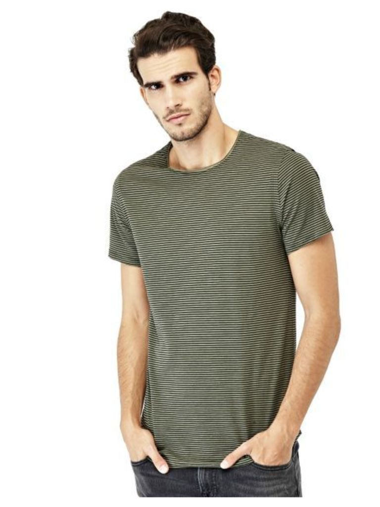 Guess T-Shirt With Stripe Pattern