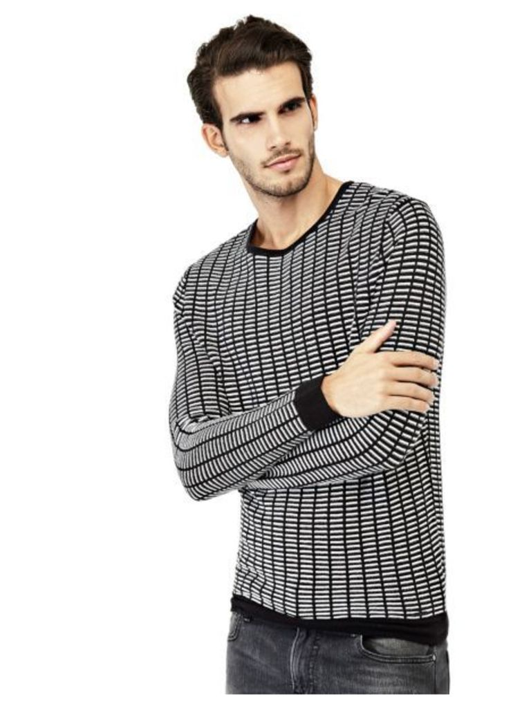 Guess Geometric Pattern Sweater