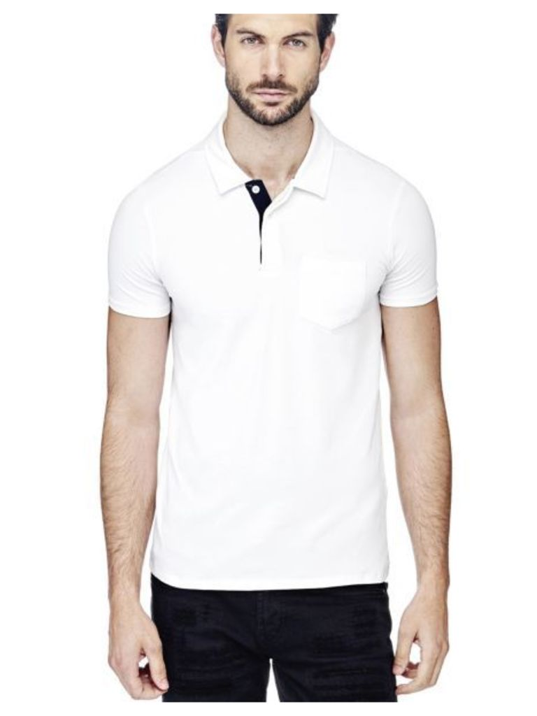 Guess Slim Polo Shirt With Pocket