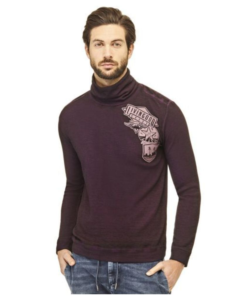 Guess Sweater With Appliqué On The Front