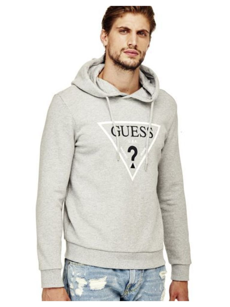 Guess Sweatshirt With Triangle Logo