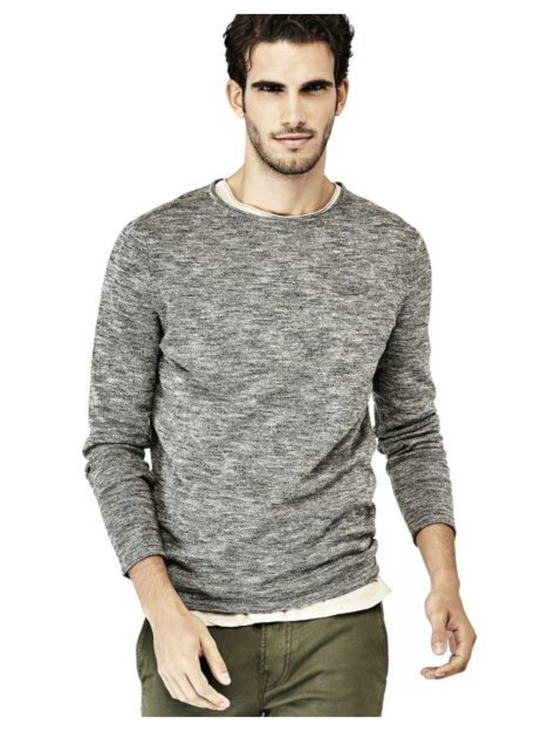 Guess Cotton Sweater With Pocket